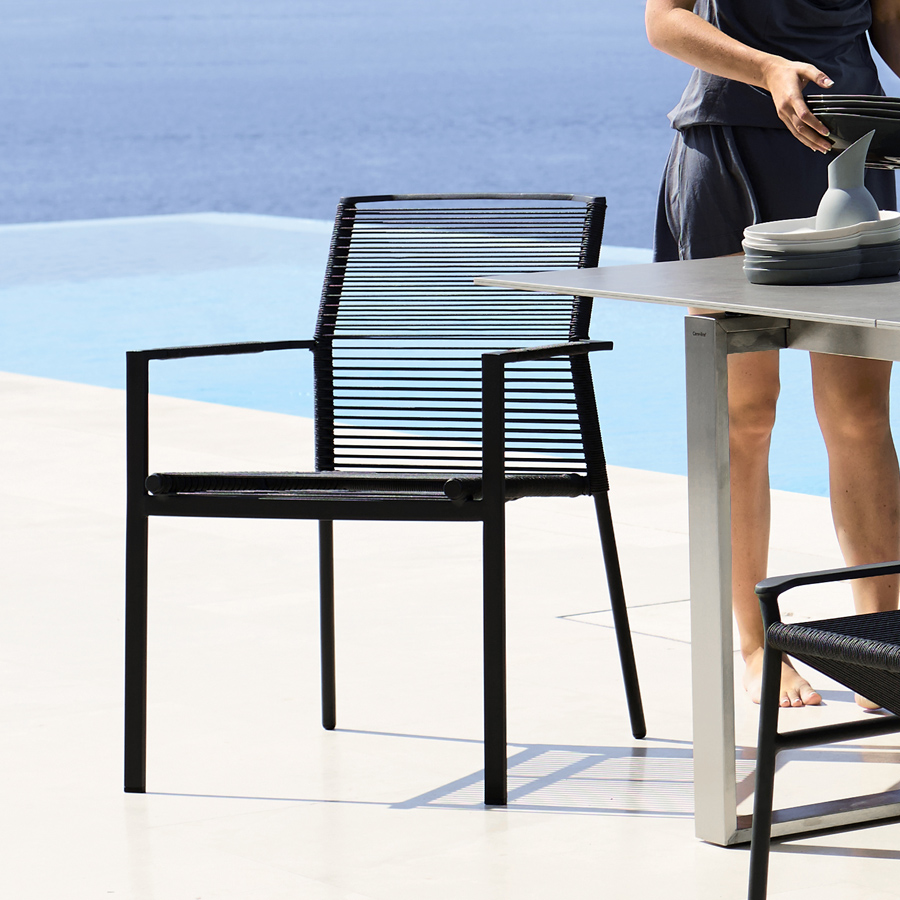 Edge Dining Chair Cane Line Collection Wgu Design