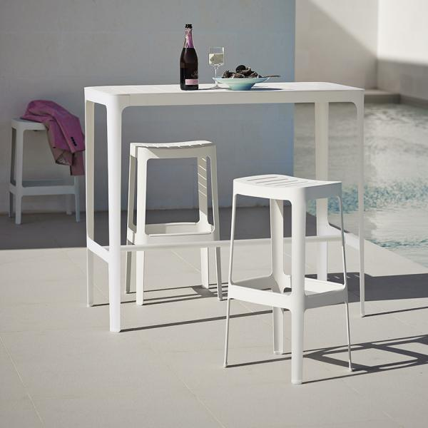 CUT Bar Table by Cane-line - WGU Design Outdoor Collection