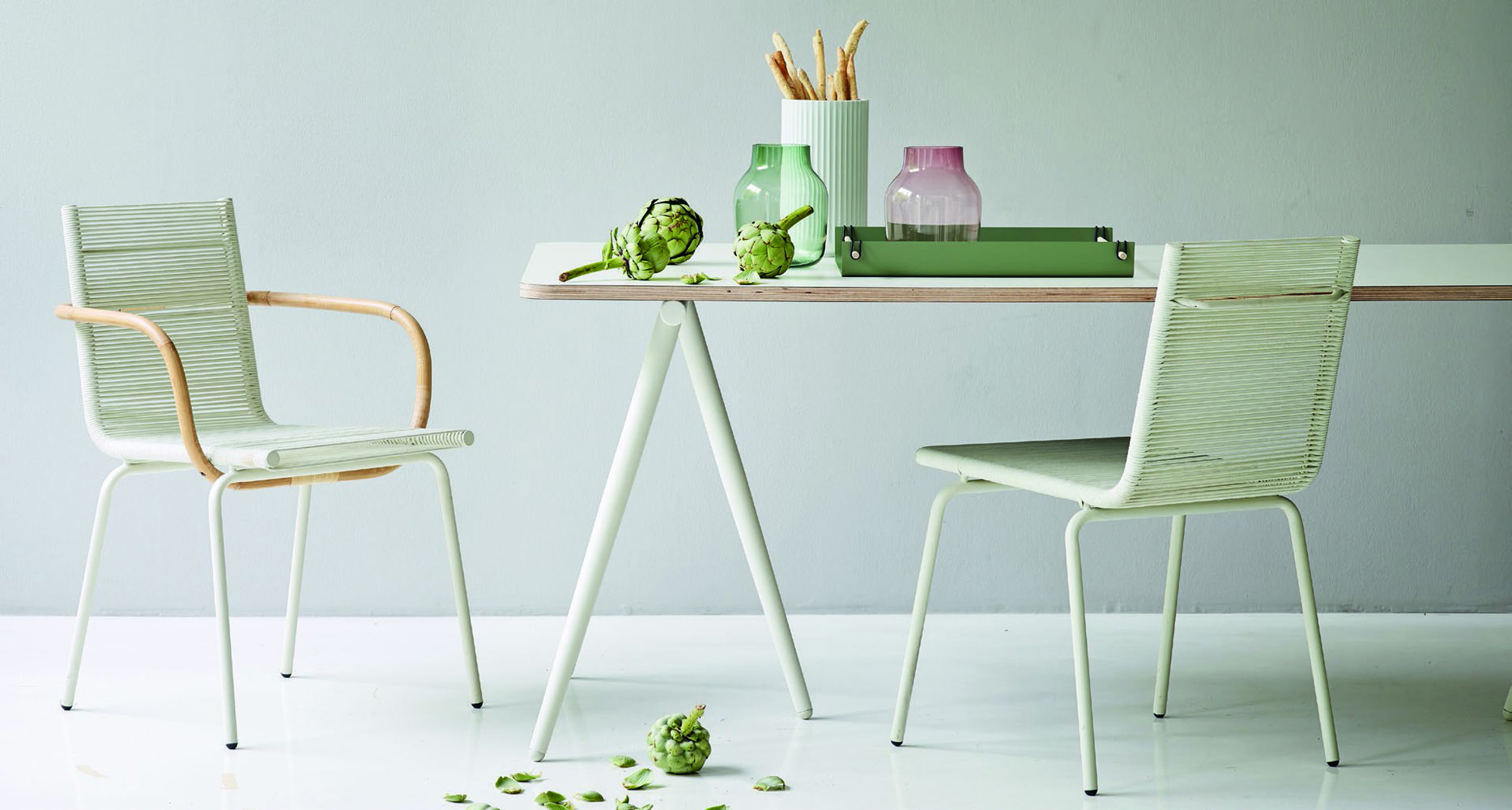 TURN Dining Table - Cane-line Indoor Collection - WGU Design
