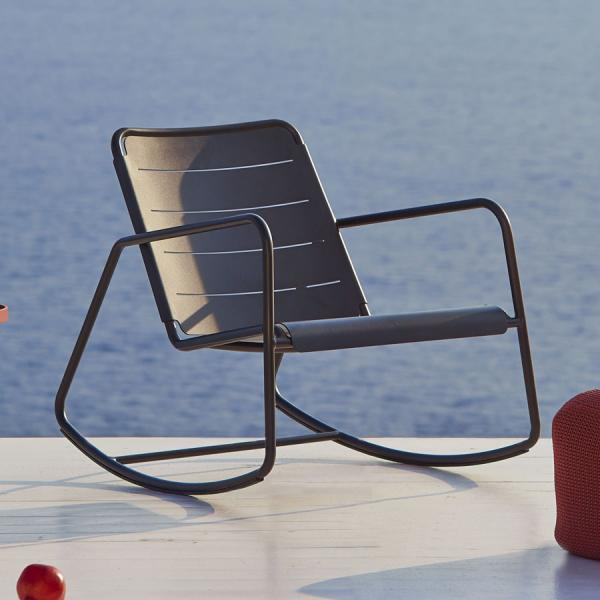 COPENHAGEN Rocking Chair - Cane-line Outdoor Collection - WGU Design