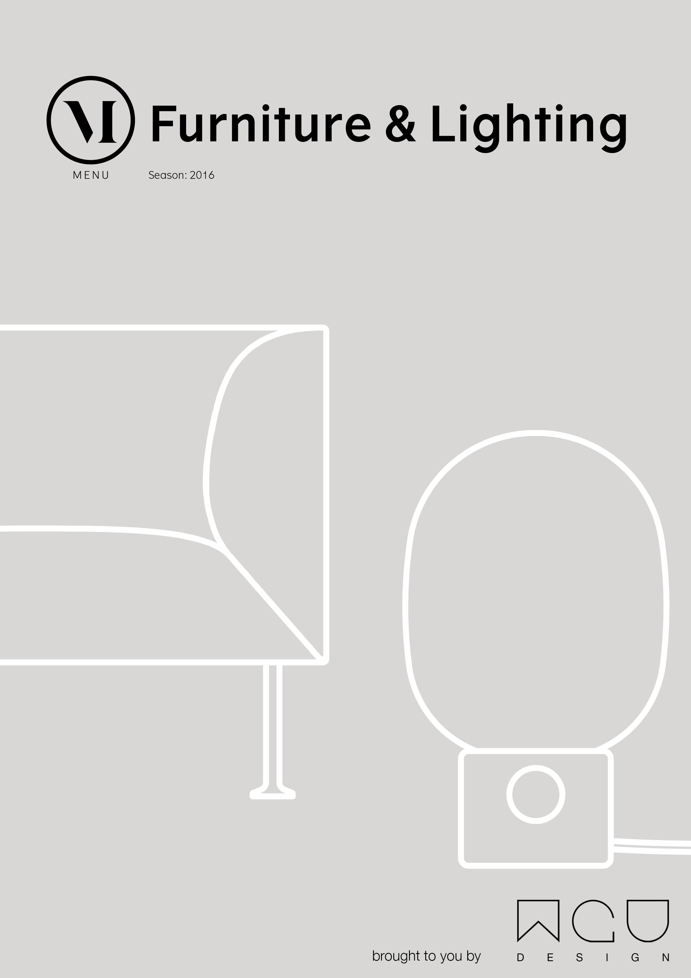 Menu Furniture & Lighting 2016