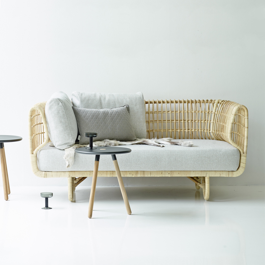 Outstanding Nest 2 Seater Sofa By Cane Line Wgu Design Australia Spiritservingveterans Wood Chair Design Ideas Spiritservingveteransorg