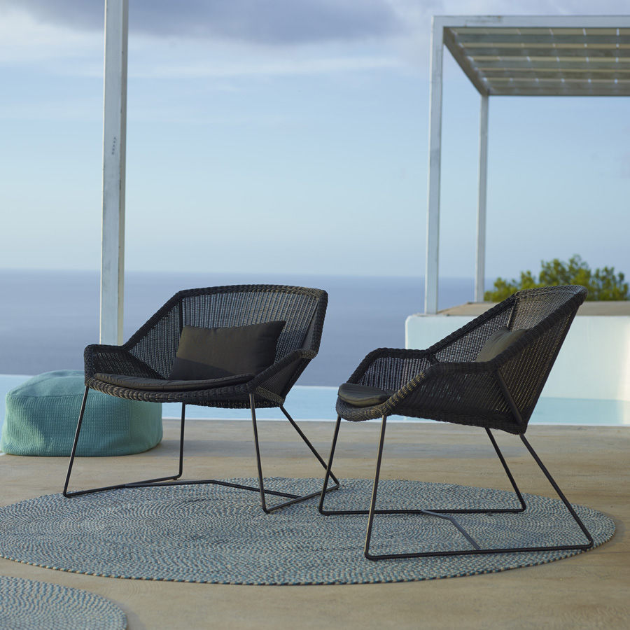 Breeze Lounge Chair Cane Line Outdoor Collection Wgu