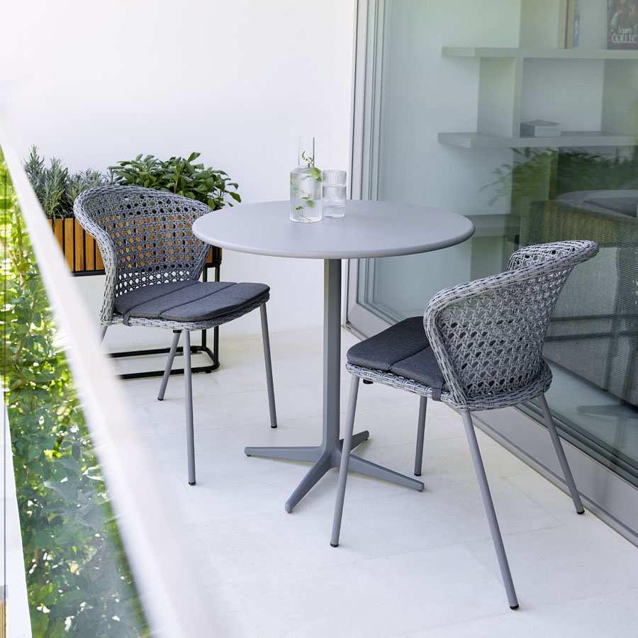 Lean Dining Chair Cane Line Outdoor Collection Wgu Design