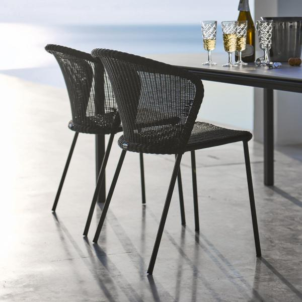LEAN Dining Chair WGU Design Cane-line Outdoor