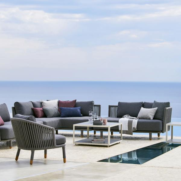 MOMENTS Modular Sets WGU Design Cane-line Outdoor Furniture