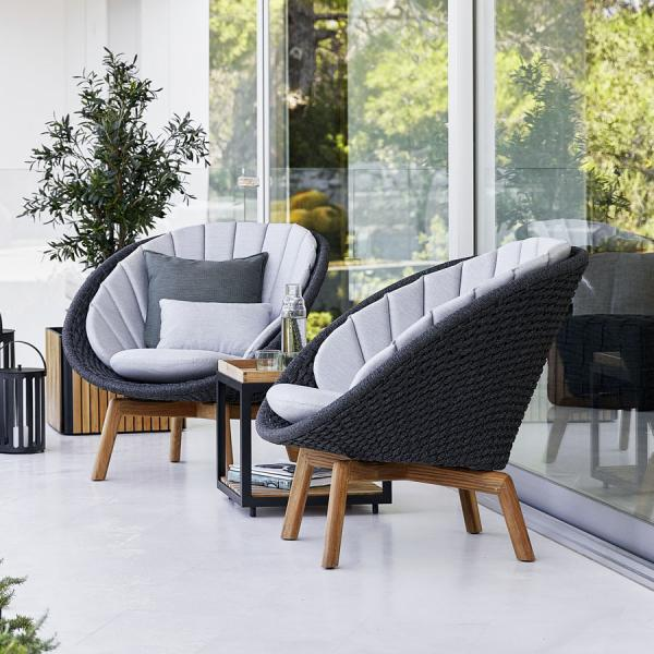 PEACOCK Lounge Chair - Cane-line Outdoor Collection - WGU Design