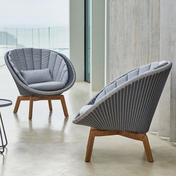 PEACOCK Lounge Chair WGU Design Cane-line