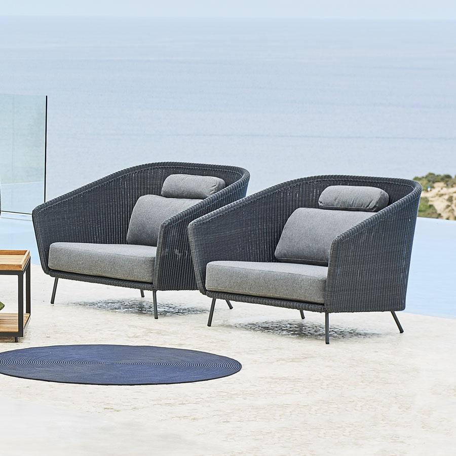 MEGA Lounge Chair - Cane-line Outdoor - WGU Design