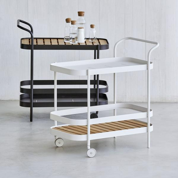 ROLL Bar Trolley - Cane-line Outdoor Collection - WGU Design