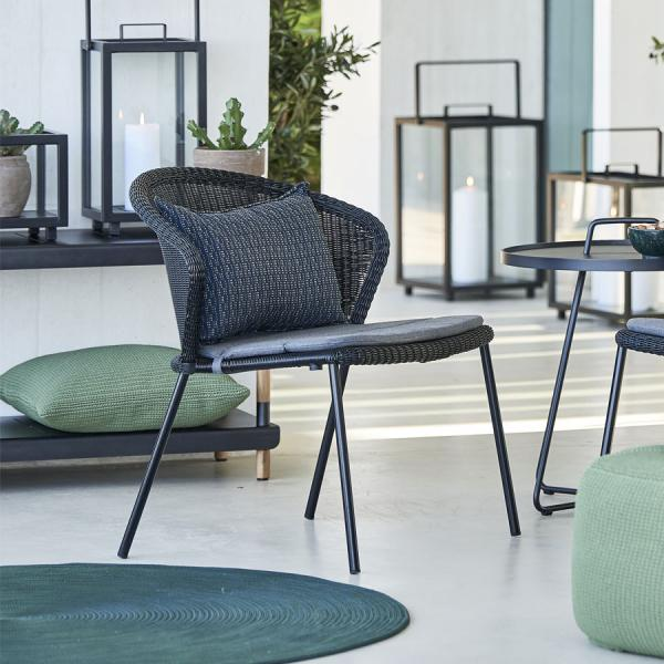 LEAN Lounge Chair - Cane-line Outdoor Collection - WGU Design