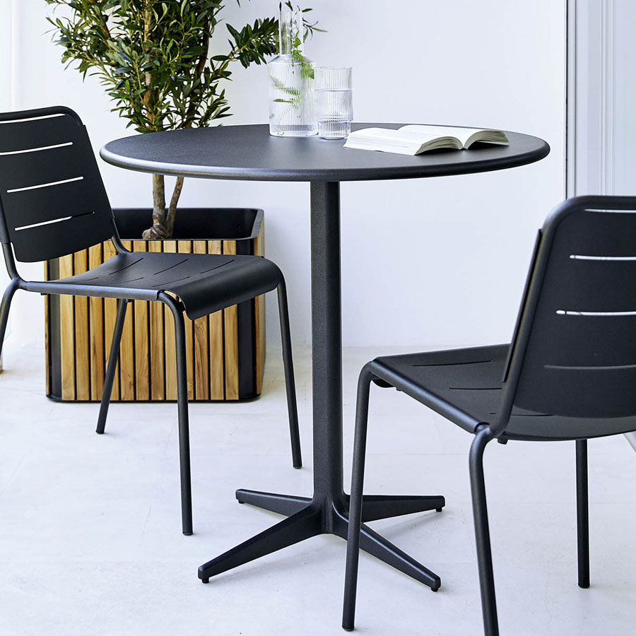 DROP Cafe Table - Cane-line Outdoor - WGU Design
