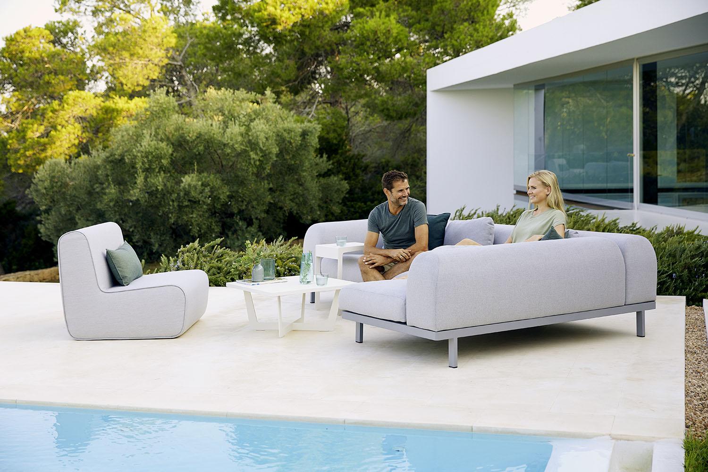 FOAM Modular Sofa - Outdoor Furniture - WGU Design - Cane-line