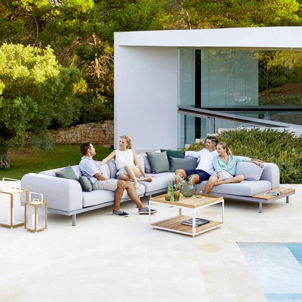 SPACE 2 Seater Module Sofa - WGU Design Outdoor - Cane-line