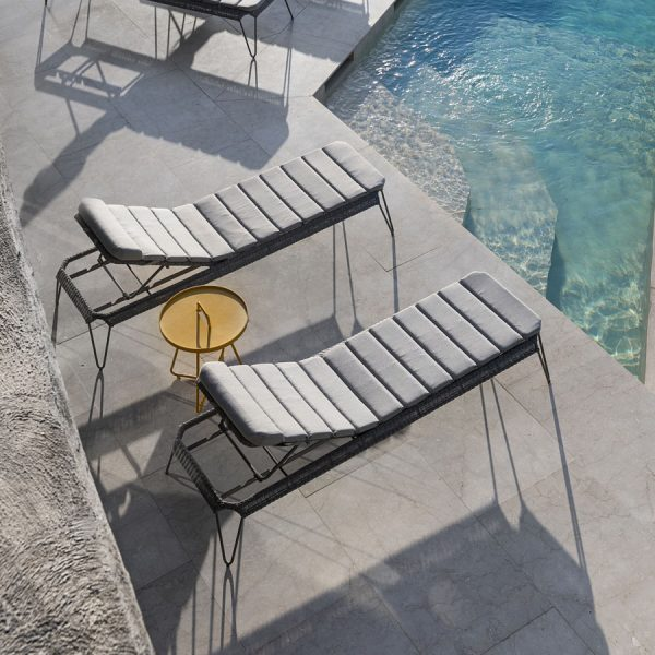 BREEZE Sunbed - Cane-line Collection - WGU Design