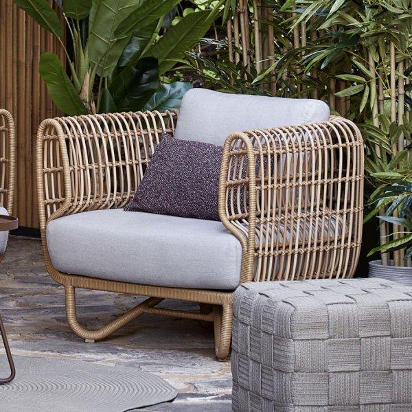 NEST Outdoor Lounge Chair - Cane-line Outdoor Collection - WGU Design Australia