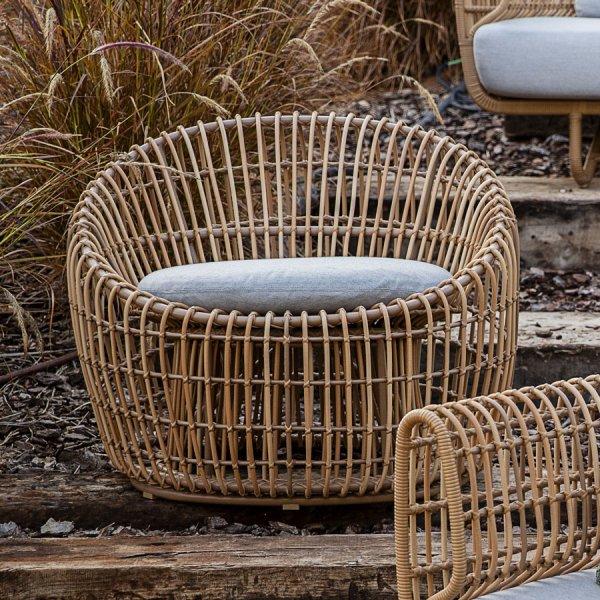 NEST Outdoor Round Chair - Cane-line Outdoor Collection - WGU Design Australia